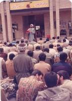 سخنرانی شهید مدبر در جمع رزمندگان اسلام دوران دفاع مقدس