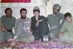 یاد خدمات سردار شهید خدمت در خطه کردستان شهید احسان باقری آرانی