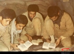 شب های قدر گویی رزمندگان نزول آیات را می دیدند