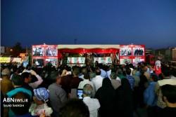 استقبال باشکوه مردم آران و بیدگل از کاروان  20 تن از شهدای دفاع مقدس