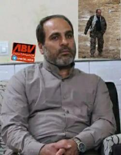 شهادت جانباز سرافراز مصطفی زاهدی بیدگلی در سوریه